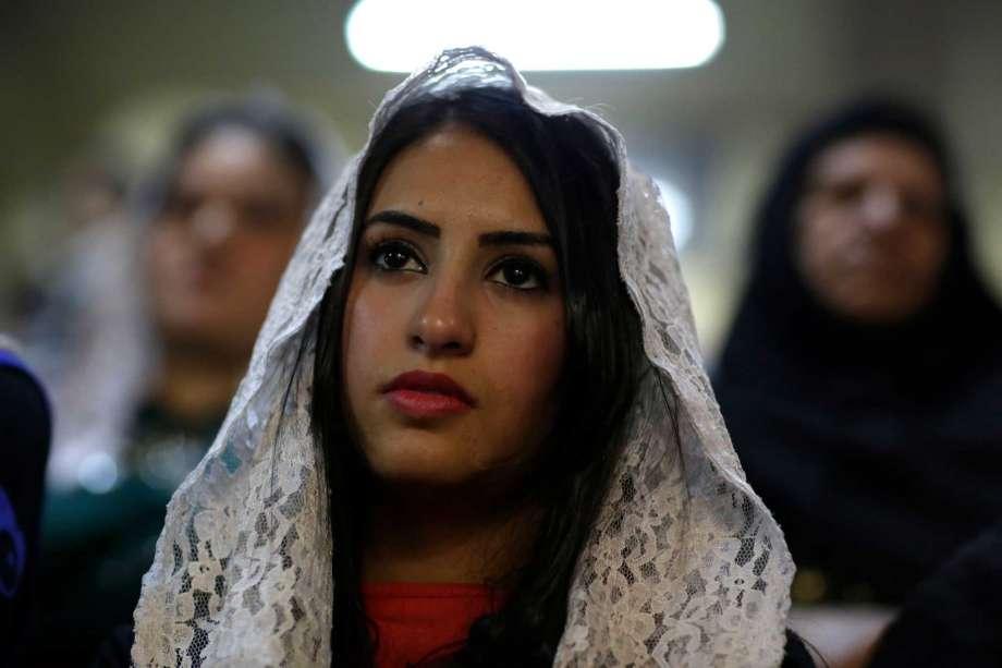 Endangered species: Christian woman in a majority Muslim nation. (Wiki)