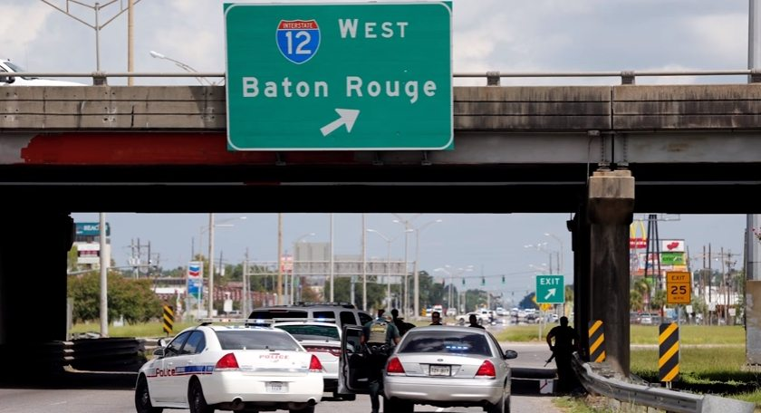Video: Women caught in Baton Rouge crossfire, gunman identified