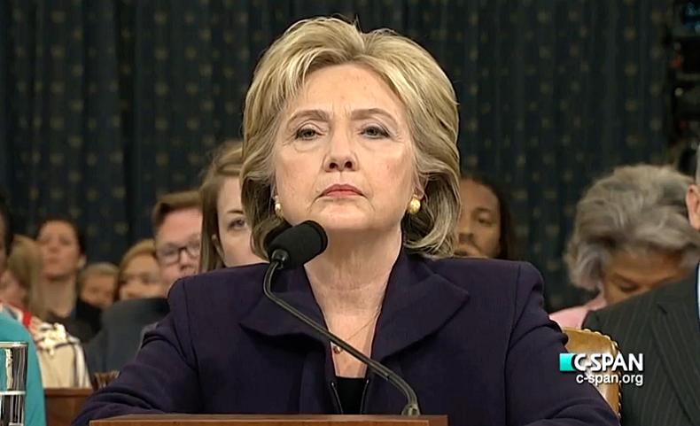 Clinton Testifying. (Youtube)