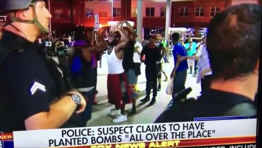 Black Lives MAtter supporters celebrate Dallas shootings