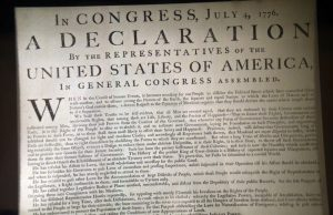 Declaration of independence - radio station says it's time to overthrow this government -- peacefully.