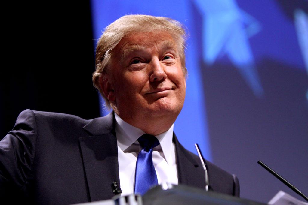 GOP nominee Donald Trump