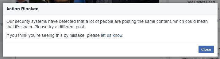 Facebook censors Dinesh D'Souza's trailer.