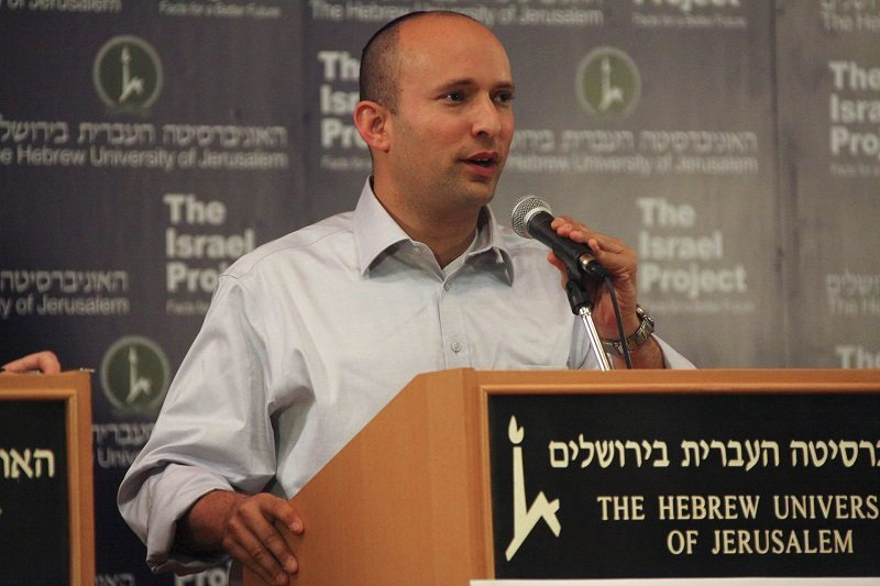 Bennett suggests shutting down Facebook to end incitement to terror