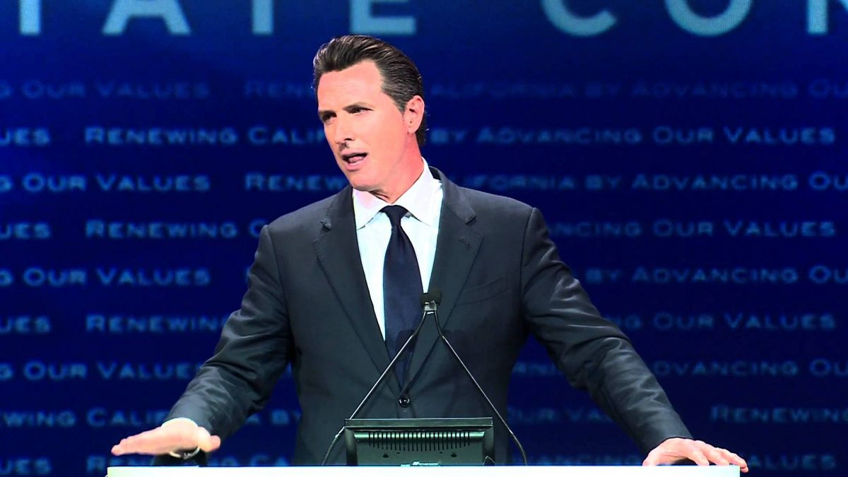 Gavin Newsom blames NRA for Baton Rouge attack