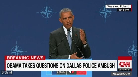 Obama says he's confused about the motives of the Dallas cop-killer