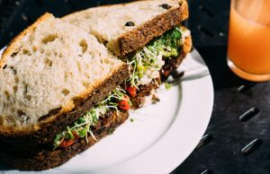 A police officer was served a sandwich containing shards of glass.