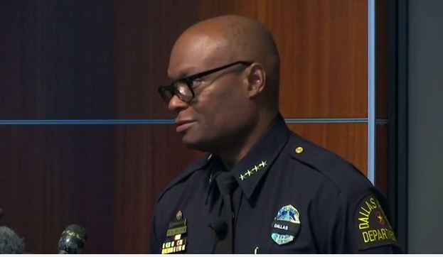 Dallas Police Chief says he and his family are getting death threats.