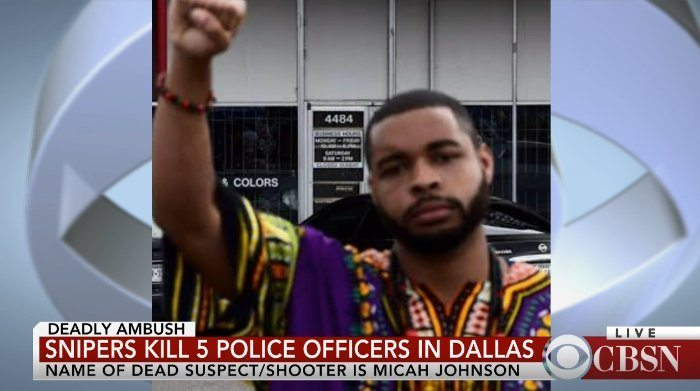 cop killer Micah Xavier Johnson