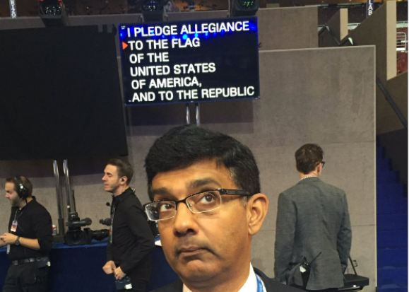 Dems have to put the Pledge of Allegiance on a teleprompter