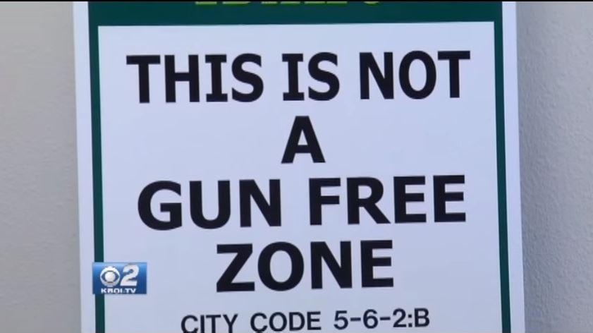 Not a gun-free zone