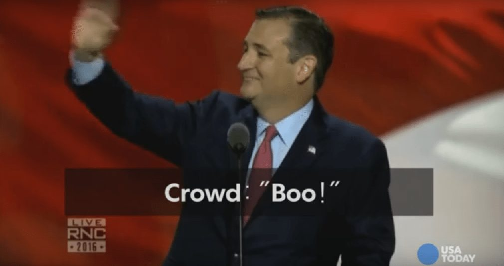 Cruz oozes off stage.