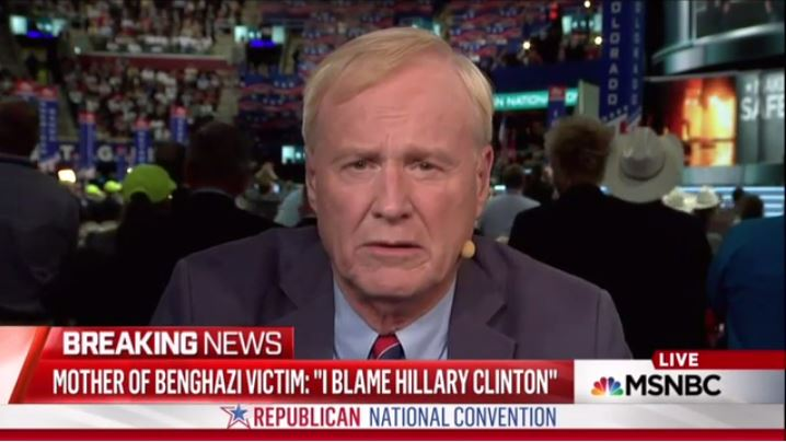 Chris Matthews attacks mother of slain Benghazi hero.