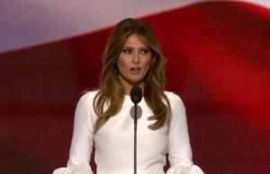 Melania Trump's white dress called racist