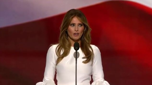 Melania Trump's white dress called racist