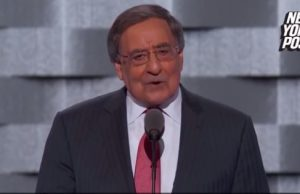 Leon Panetta calls for defeating ISIS, gets booed by delegates