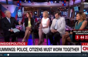 "According to CNN, ""law and order"" is racist"