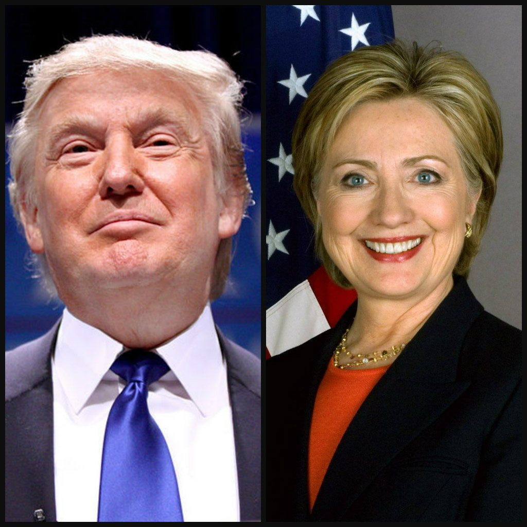 Why is Trump distracting from Hillary's problems? (Wikimedia)