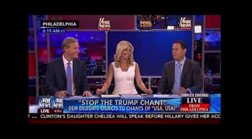 DNC delegate upset over chant of USA, USA