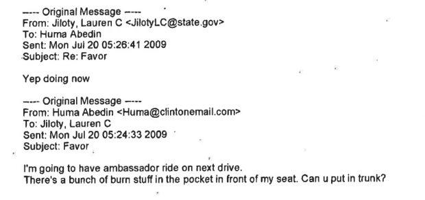 Abedin email