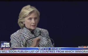 Clinton - change religious views