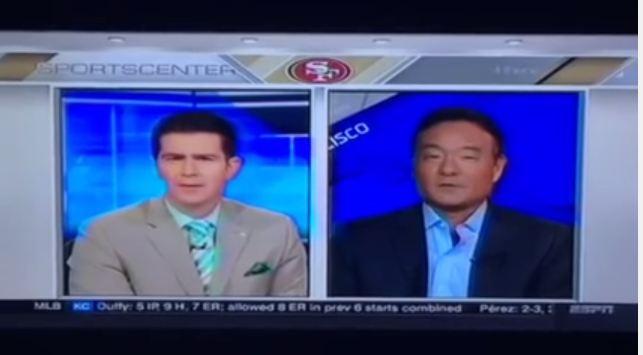 ESPN crank tries to blame Trump for Kaepernick dissing national anthem