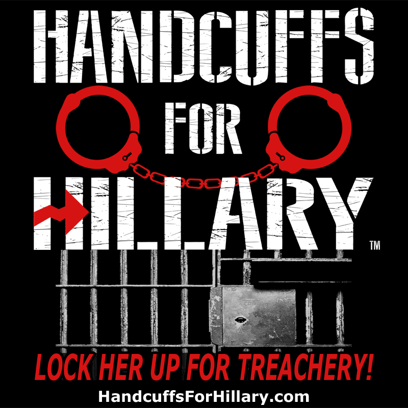Handcuffs for Hillary