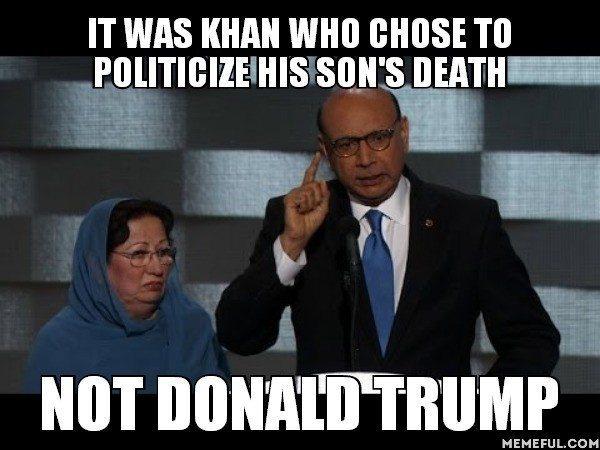 Khan's ties to Clinton Cash, Saudi Arabia, Islamists (Photo: Twitter).