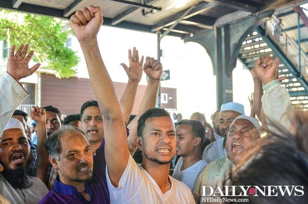 imam shot, trump blamed