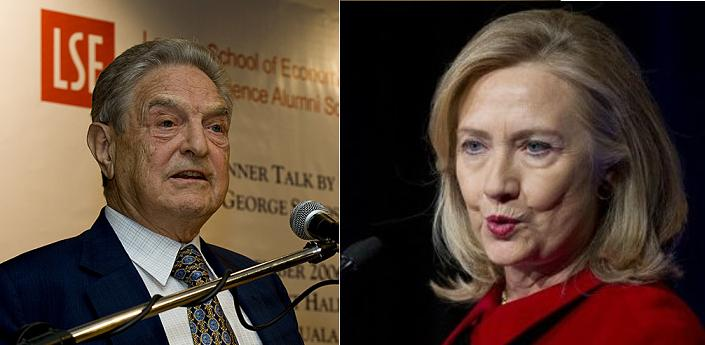 Soros issues marching orders to Clinton. (Wiki)