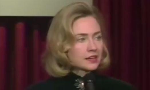 Clinton makes racist comment, calling blacks super-predators