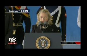 Hillary Clinton once again calls families of Benghazi victims liars.