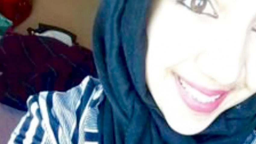 Muslim woman defends adult males having sex with little girls. (Twitter)