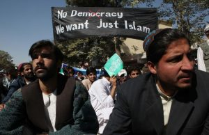 No democracy, we just want islam