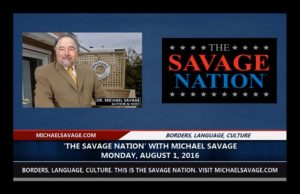 Facebook banned Michael Savage for link to news story.