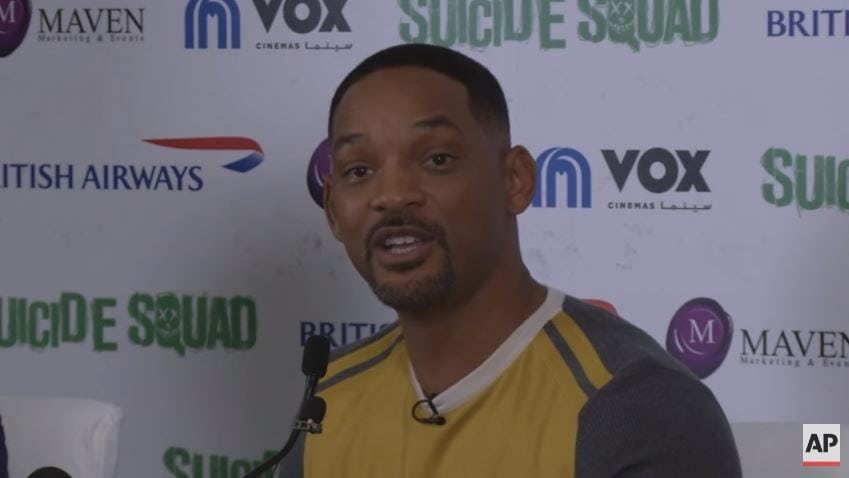 Will Smith wants to cleanse America of Trump supporters