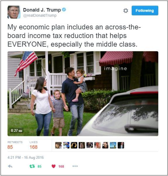Trump tweet deleted