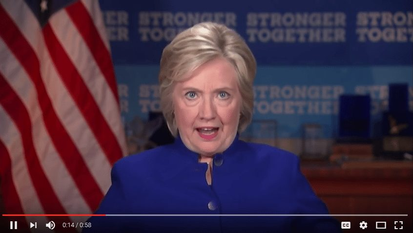 "Hillary screams ""Why aren't I 50 points ahead?"""