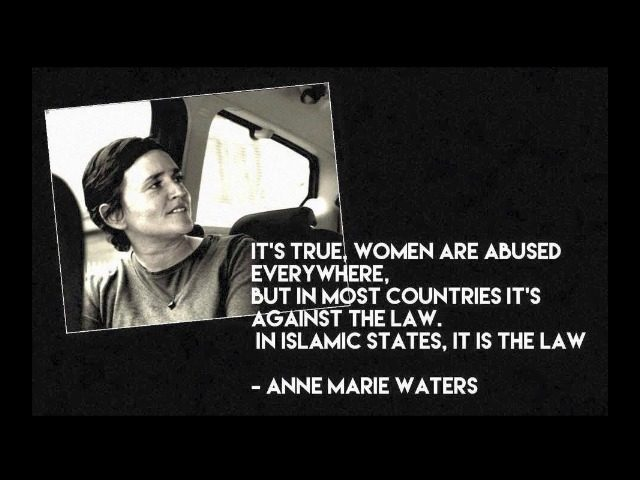 Anne Marie Waters tells the truth about liberalism. (Facebook)