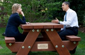 Obama communicated with Clinton on her private server using a fake name, then lied about it