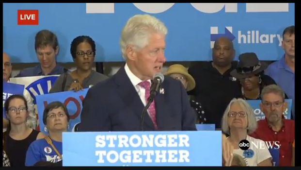 Bill Clinton mocks coal workers