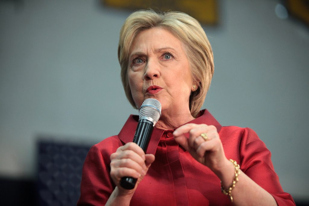 Hillary Clinton - A CBS reporter said staffers leaving over concerns she may drop out.