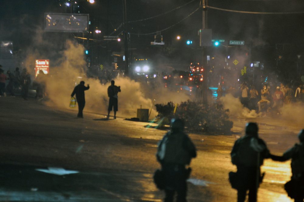 Unrest in Ferguson. Will the 2016 election spark armed revolt?