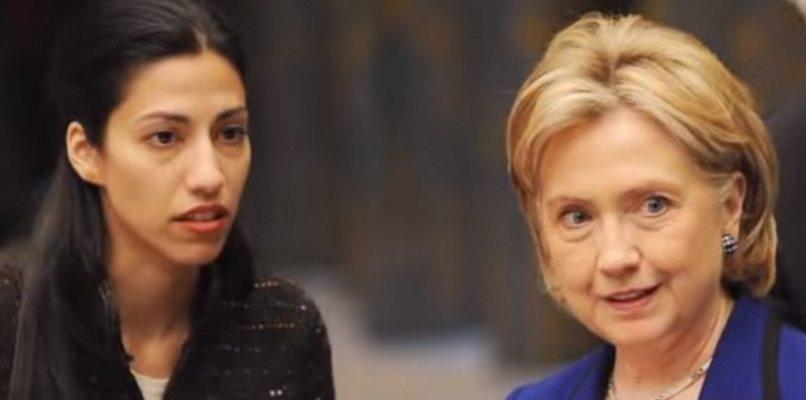 Hillary and Huma