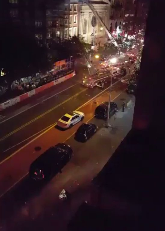 Explosion in New York City injures 25 people