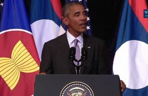 Obama in Laos slams Americans as lazy, ignorant racists
