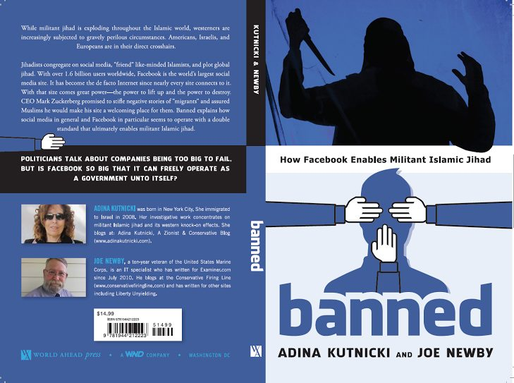 New book reveals how Facebook enables militant Islamic jihad.