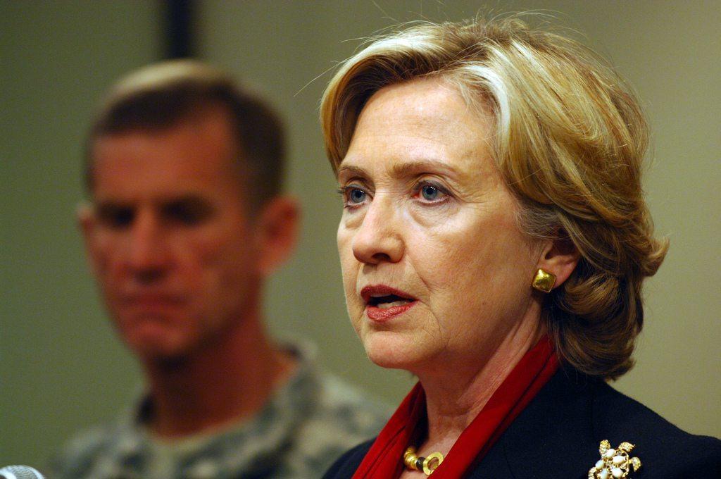 Clinton cancel debate drone assange