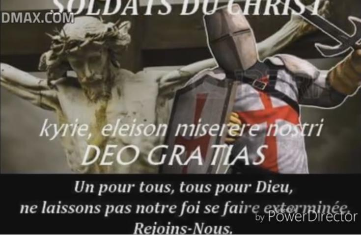 The Spirit of Urban II in present day Catholics. Photo: Youtube.