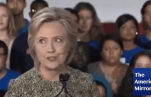Hillary's eyes